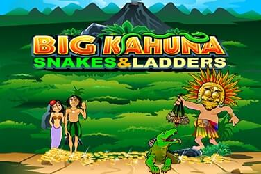 Play Big Kahuna - Snakes and Ladders Slots on HippoZino