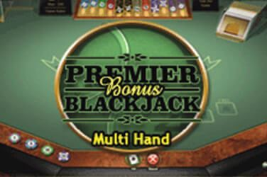 Premier MultiHand Bonus Blackjack Slot