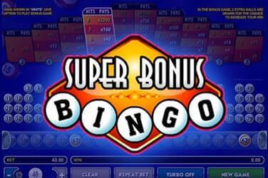 Play Super Bonus Bingo Casual on MaxiPlay Casino