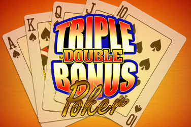 Play Triple Double Bonus Poker Casino on HippoZino