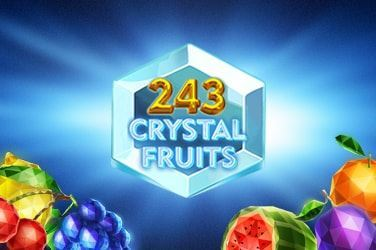 Play 243 Crystal Fruits Slots on HippoZino