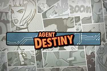Play Agent Destiny Slots on HippoZino