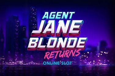 Play Agent Jane Blonde Returns Slots on HippoZino
