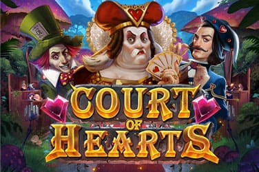Play Rabbit Hole Riches - Court of Hearts now!