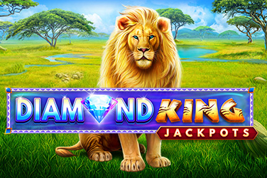Play Diamond King Jackpots Slots on HippoZino