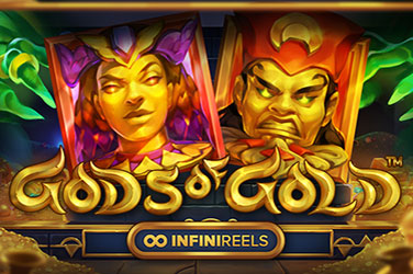 Play Gods of Gold INFINIREELS Slots on HippoZino