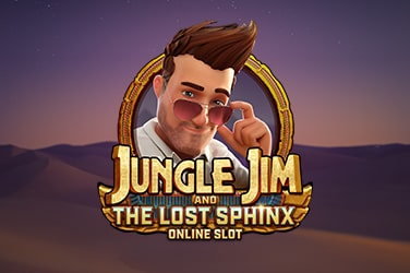 Play Jungle Jim and the Lost Sphinx Slots on HippoZino