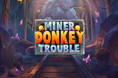 Play Miner Donkey Trouble Slots on HippoZino