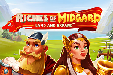 Play Riches of Midgard: Land and Expand Slots on HippoZino