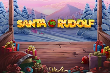 Play Santa vs Rudolf Slots on HippoZino
