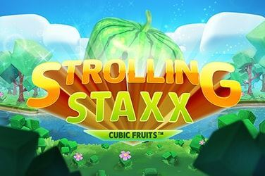 Play Strolling Staxx Cubic Fruits  Slots on HippoZino