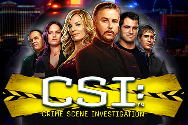 Play CSI: Crime Scene Investigation Slots on HippoZino