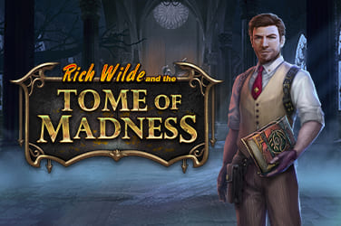 Play Rich Wilde and the Tome of Madness Slots on HippoZino