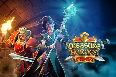 Play Treasure Heroes Slots on HippoZino