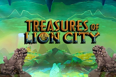 Play Treasures of Lion City Slots on HippoZino