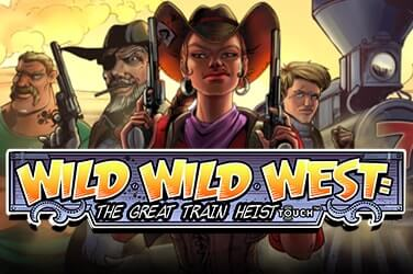 Play Wild Wild West: The Great Train Heist Slots on HippoZino