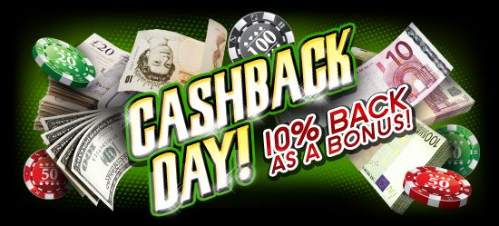 Claim Your Freespins Cash Back Day Promotion at Hippozino