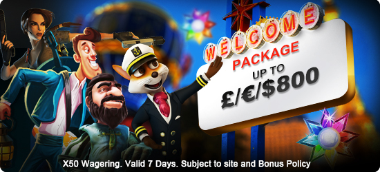 Claim Your Freespins Welcome Package up to 800 Promotion at Hippozino