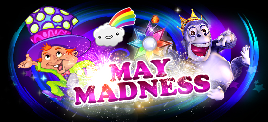 Claim Your Freespins May Madness Promotion at Hippozino