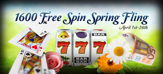 Claim Your Freespins Spring Fling Free Spins Promotion at Hippozino