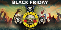 CELEBRATE BLACK FRIDAY WITH GUNS N' ROSES™