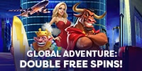 FREE SPINS GLOBAL ADVENTURE!