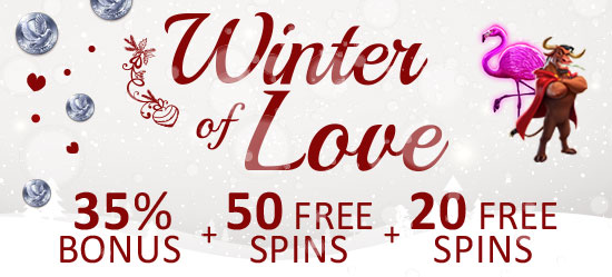 WINTER OF LOVE – BONUSES + FREE SPINS