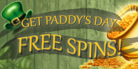 GET PADDY'S DAY - Up To 130 Free Spins