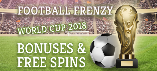 Football Frenzy - World Cup 2018 Bonuses & Free Spins