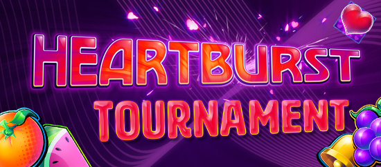 Try our new game Heartburst and earn your share of £/$/€ 2,000+