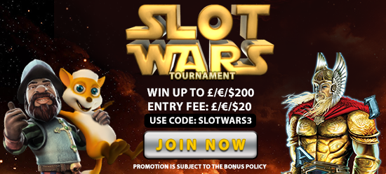 Claim Your Freespins Slot Wars Promotion at Hippozino